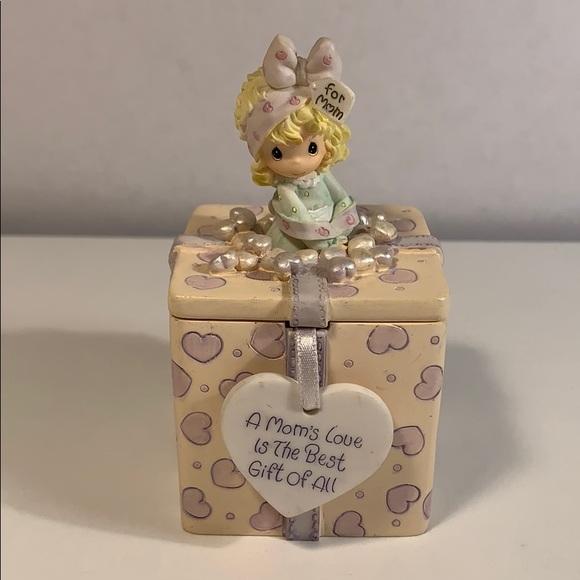 Best Mom Trinket Gift Box w/ Interchangeable Lid